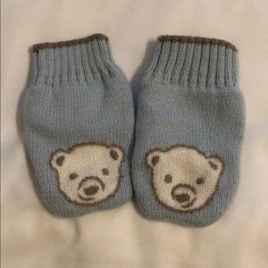 Sweet Janie and Jacket newborn mittens